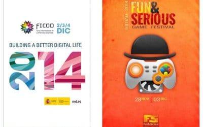 Gestionet presente en FICOD y en el Fun&Serious Game Festival