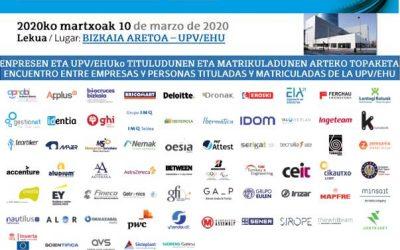 Gestionet e Identia en el Foro de Empleo de la UPV/EHU 2020