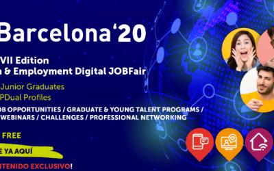Gestionet muestra sus soluciones digitales para la captación de talento en el JOBarcelona20