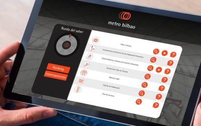 Plataforma e learning Metro Bilbao