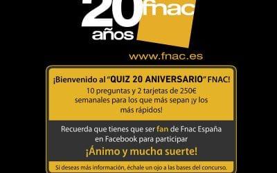 FNAC 20 aniversario