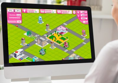 Laboral City, business game