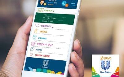 Unilever, Plataforma de comunicación gamificada